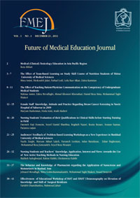 Future of Medical Education Journal